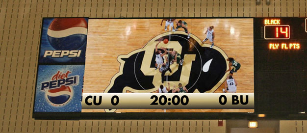 Colorado-Basketball-Video-Display