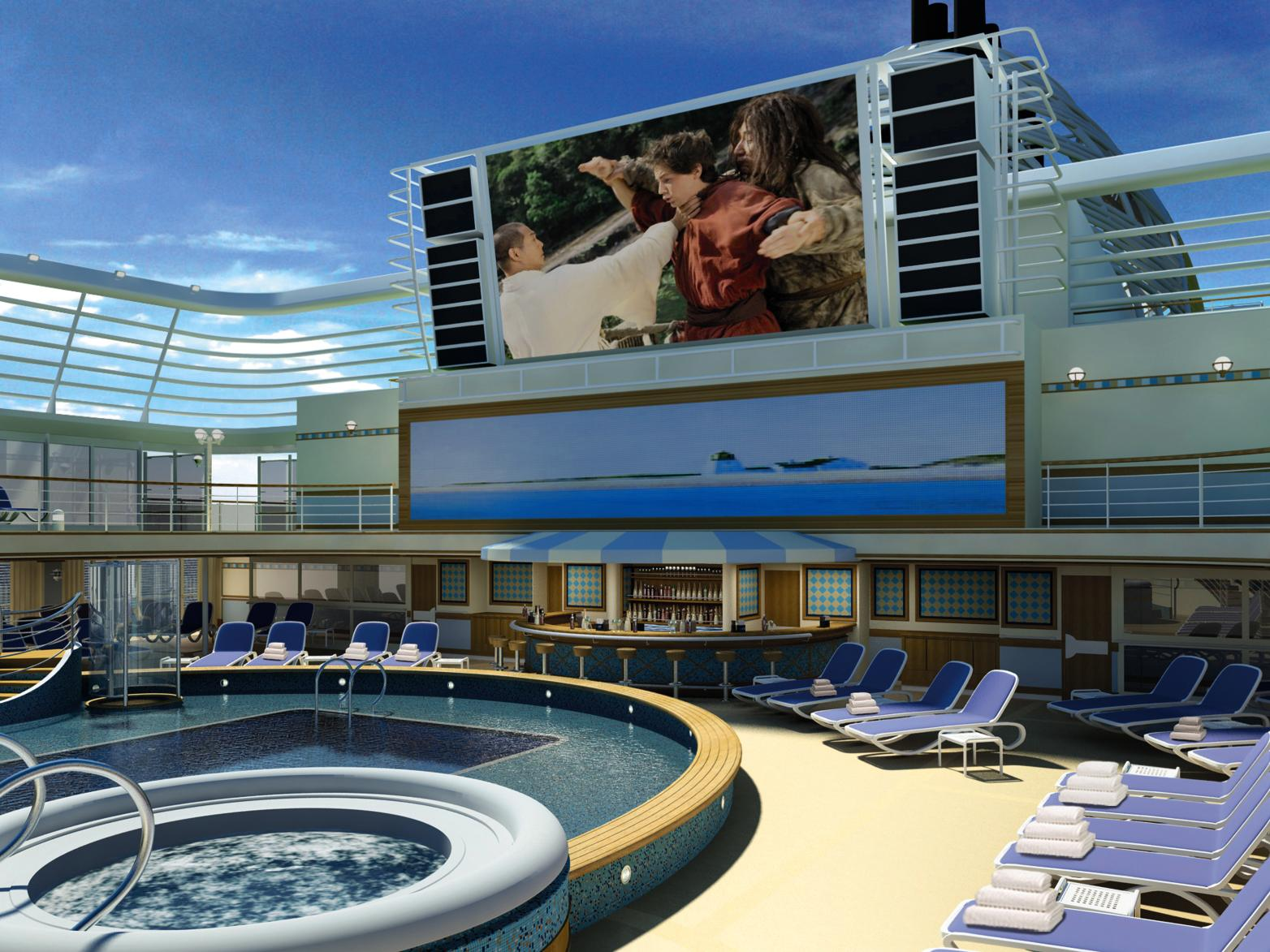 P&amp;O Cruises Digital Signage_1